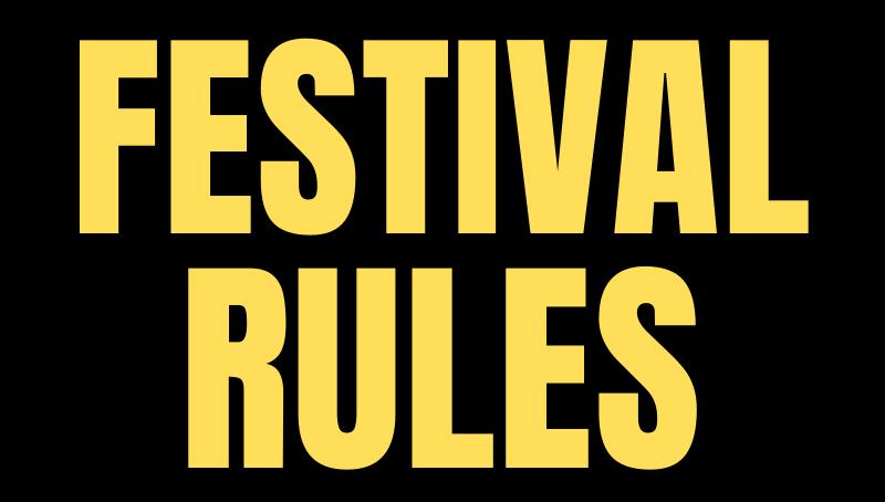 Festival Rules